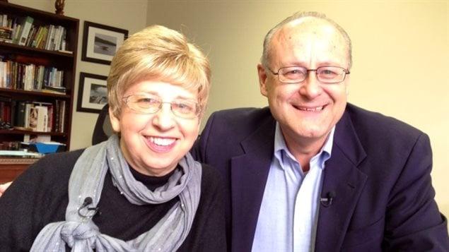 Nancy Writebol et son mari David Writebol. La travailleuse humanitaire américaine a été infectée par le virus Ebola en Afrique de l'Ouest, mais elle a survécu après avoir reçu le vaccin experimental ZMapp