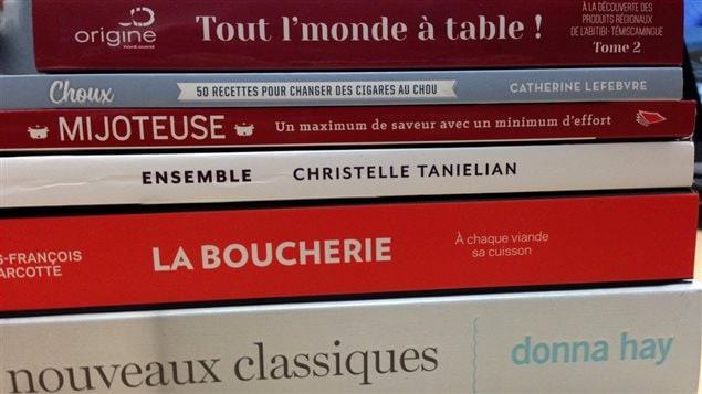 Sélection de livres de recettes d'Hélène Raymond et Claude Brunet
