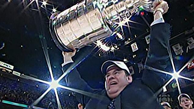 Pat Burns a remporté la Coupe Stanley en 1989, à la barre du Canadien de Montréal.