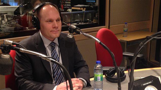 Tim Duboyce, porte-parole de TransCanada