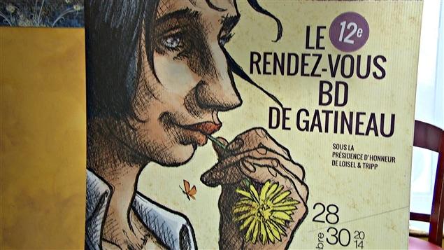 Le 12e Rendez-vous de la bande-dessinée de Gatineau se déroule du 28 au 30 novembre 2014.