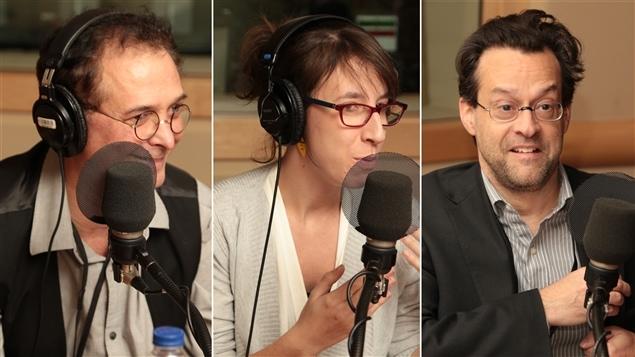 Normand Baillargeon, Sophie Gagnon et Alexis Martin
