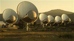 Les antennes du SETI restent à l'écoute des étoiles.