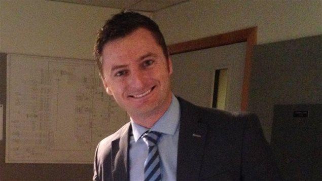 Frédéric Boulanger, chef régional du