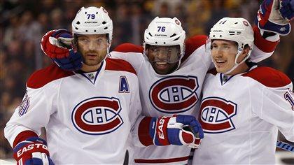 Le Canadien blanchit les Bruins