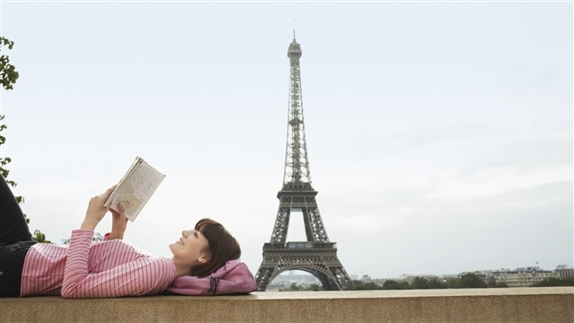 Pour Marie-Julie Gagnon, tous les livres semblent l'amener à Paris.