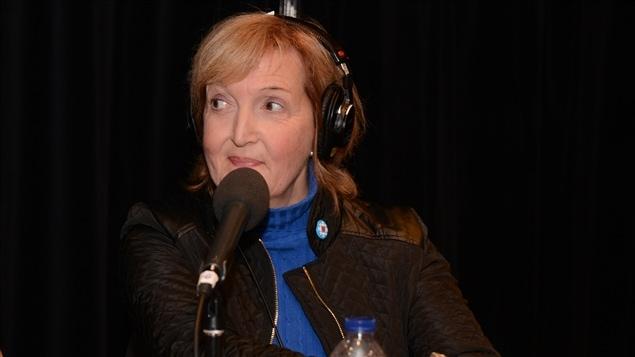 Diane Pilotte, pr�sidente du conseil d�administration de Vues et Voix