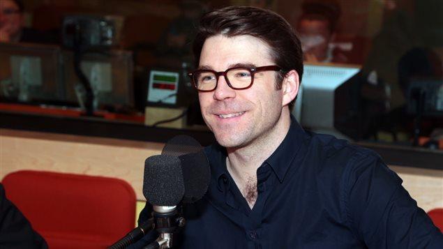 Le journaliste Jean-Frédéric Légaré-Tremblay