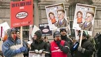 Mobilisation syndicale au Québec contre la réforme des régimes de retraite