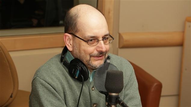 Benoît Melançon, professeur titulaire et directeur du Département des littératures de langue française de l'Université de Montréal
