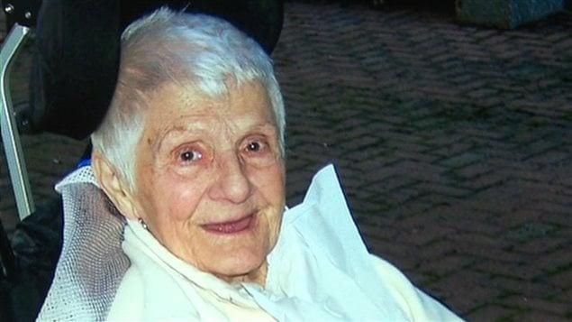 Rita Couturier, 85 ans, a passé neuf mois dans un CHSLD sans pouvoir prendre de bain.