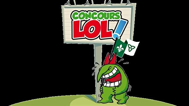 Le logo du Concours LOL, dans l'Est ontarien.