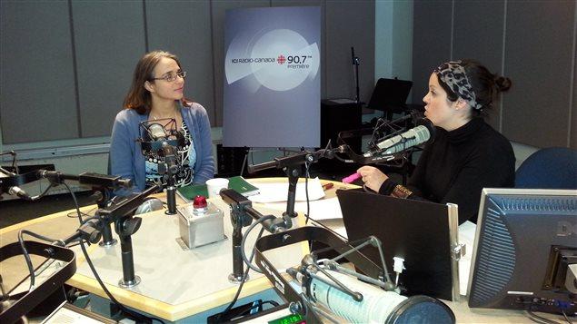 Entrevue en studio avec Nathalie McSween
