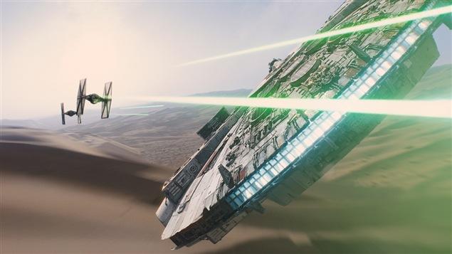 La bande-annonce du film « Star wars : the force awakens ».