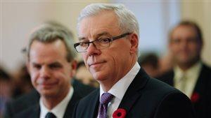Le premier ministre Greg Selinger, le 3 novembre dernier.