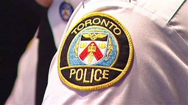 Un badge de la police de Toronto