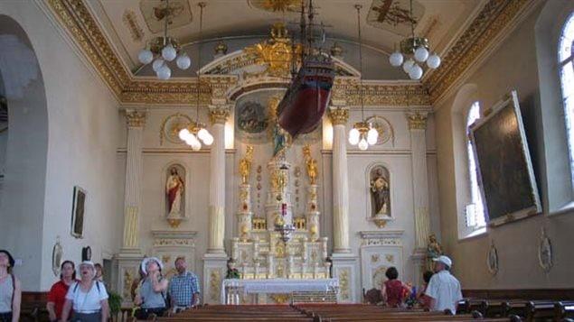 Intérieur de l'église Notre-Dame-des-Victoires