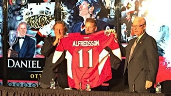 Alfredsson a porté une dernière fois le chandail des Sénateurs