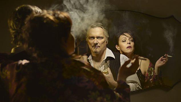 Une scène tirée de la pièce «Qui a peur de Virginia Woolf ?»