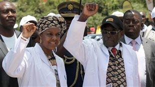 Mugabe se plante