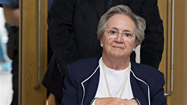 Lise Thibault, ex-lieutenante-gouverneure du Québec