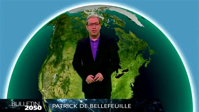 Bulletin météo de 2050