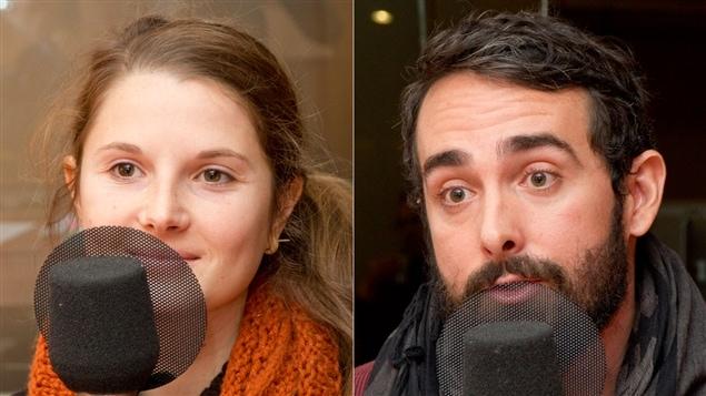 Alizé Vandercruyssen et son compagnon, Maxime Bellefleur