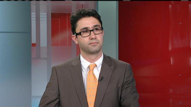 L'avocat Kaveh Shahrooz.