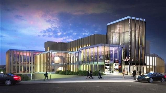 Le CNA sera totalement modernis� et aura une entr�e plus imposante sur la rue Elgin qui fait face au centre-ville d'Ottawa.