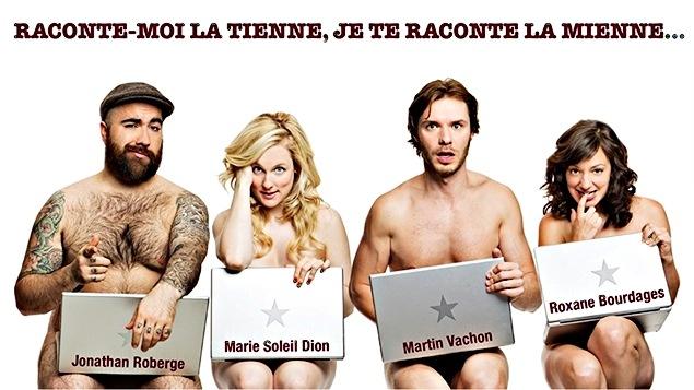 Les comédiens Martin Vachon et Roxannes Bourdages nous parle du spectacle « Ma première fois »