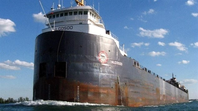 Cargo typique des Grands Lacs