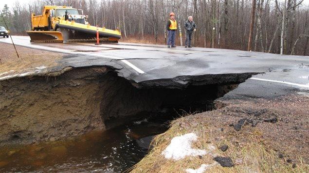Inondation au Nouveau-Brunswick
