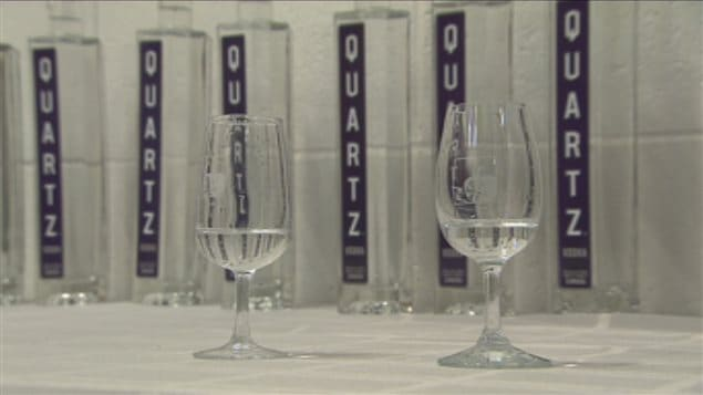Quartz, la vodka