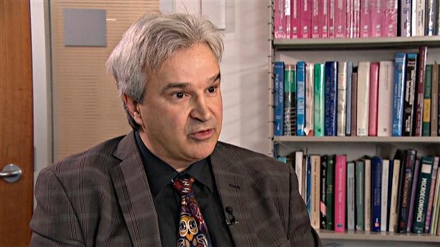 Marcel Mérette, économiste et doyen de la Faculté des sciences sociales de l'Université d'Ottawa.