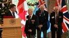 La France décore trois vétérans canadiens (2014-12-13)