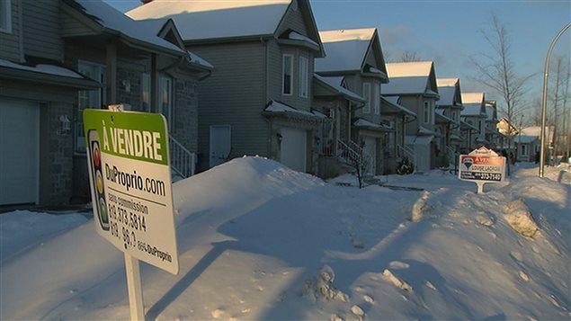 Prix médian des maisons au Canada: augmentation de 5,7% en un an