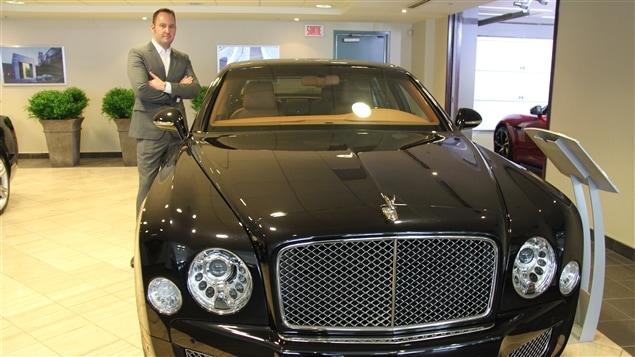 Paolo Paolo Bargelletti, directeur des ventes chez Décarie Motors