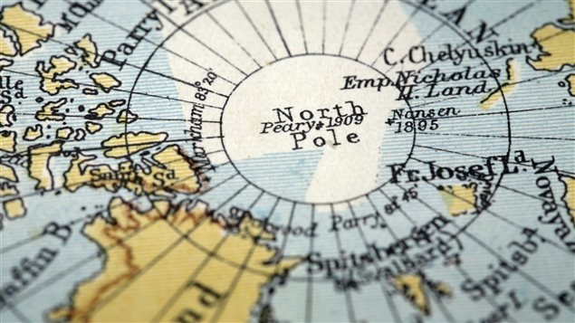 Le Danemark réclame le Pôle Nord comme étant sien
