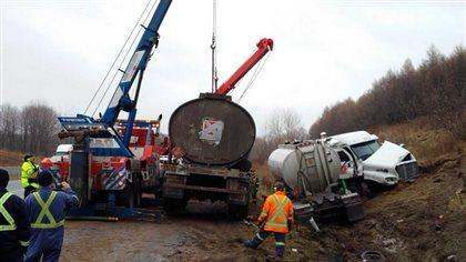 Déversement de diesel à l'est de Toronto - Radio-Canada