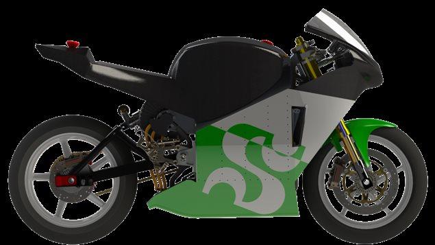EMUS, le projet de moto électrique réalisé par des étudiants de l'Université de Sherbrooke