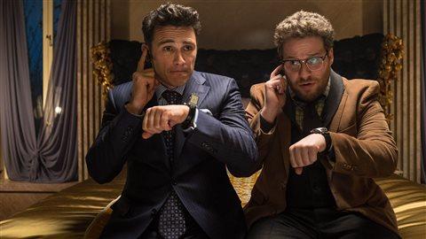 Sortie en salle du film <i>The interview</i> : un coup publicitaire?