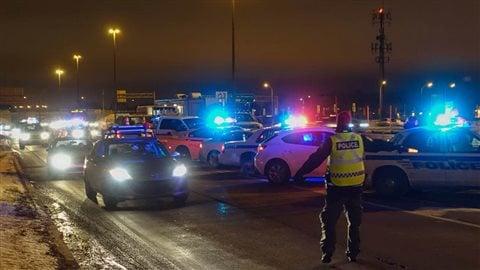 La police a mené une opération contre l'alcool et la drogue au volant dans plusieurs secteurs du Québec.