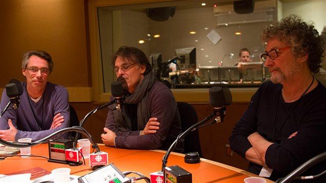 Serge Brouillet, Régis Loisel et Jean-Louis Tripp