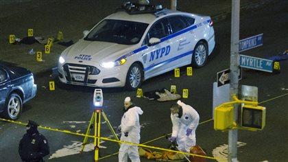 Deux policiers tués par balles à New York