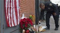 Consternation à New York après la mort de deux policiers