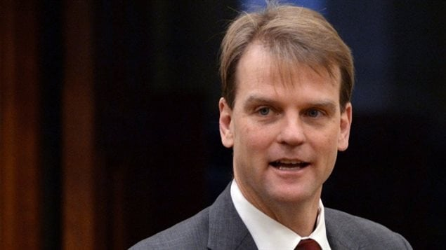 Le ministre de l'Immigration Chris Alexander