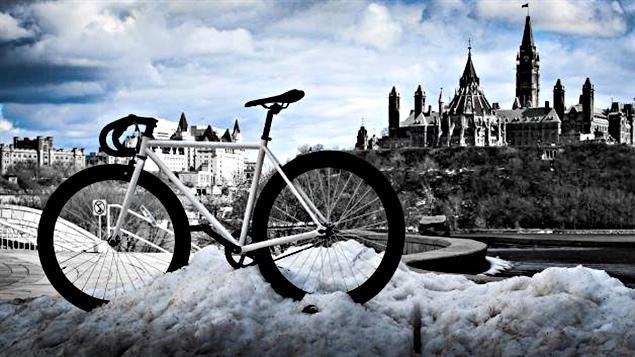 La compagnie gatinoise Moose Bicycle produit des bicyclettes conçues pour l'hiver.