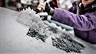 Bourrasques de neige et vols perturbés en Ontario