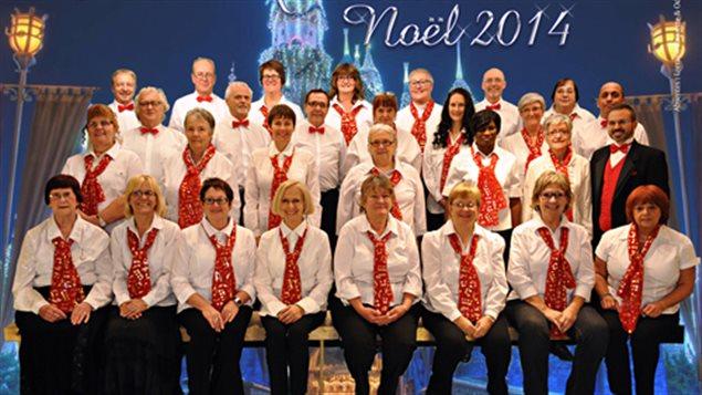 Katerine Verebely a rencontré les choristes du Choeur québécois de Montréal qui chante pour les personnes seules à Noël