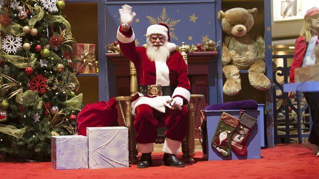 Le père Noël au Complexe Desjardins